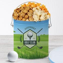 Golf Popcorn Tin