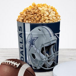 Dallas Cowboys Popcorn Tin 7065