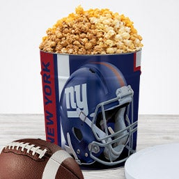 New York Giants Popcorn Tin 7070