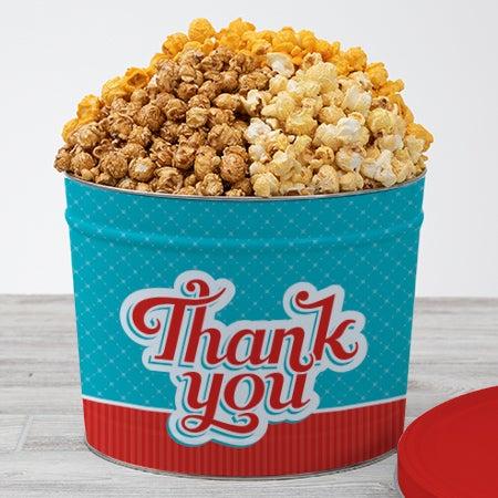 Thank You Popcorn Tin People's Choice 2