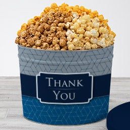 Corporate Thank You Popcorn Tin