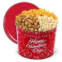 Valentine's Day Popcorn Tin