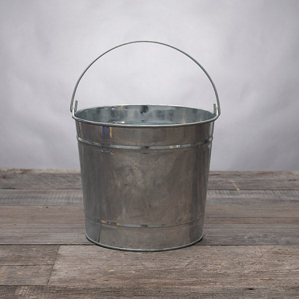 10 Quart Metal Bucket