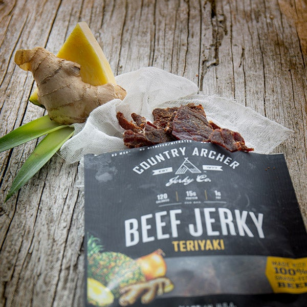 Teriyaki Beef Jerky by Country Archer - 1 oz. -