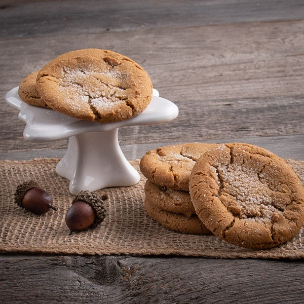 Molasses Cookie with Crystallized Ginger - 2 pack