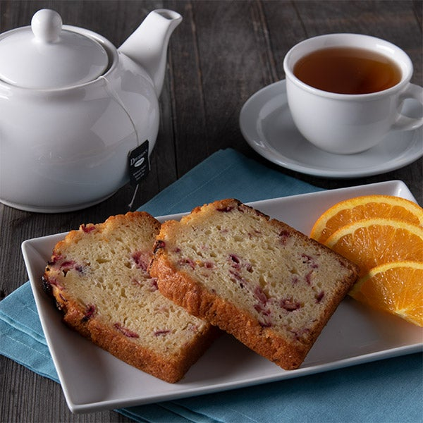Cranberry Tea Bread by GourmetGiftBaskets.com - 3 oz. -