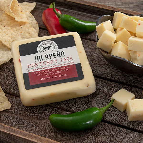 Jalapeno Monterey Jack Cheese by Mountain View Farm - 6 oz. -
