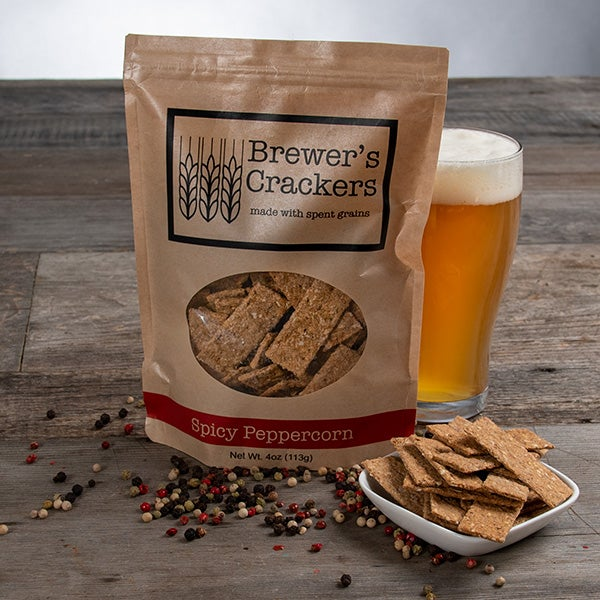 Sesame Sea Salt Crackers by Brewer's Crackers - 4 oz. -