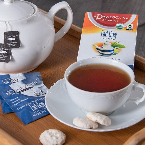 Earl Grey Tea by Davidson's - 8 sachets -