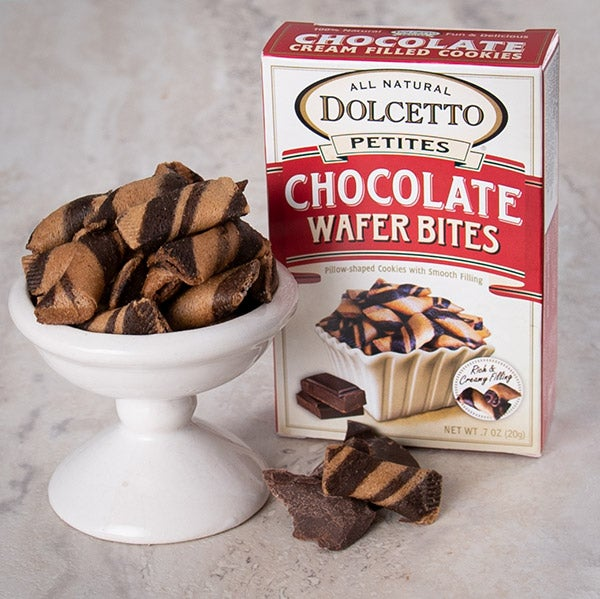 Chocolate Wafer Petites by Dolcetto - .7 oz. -