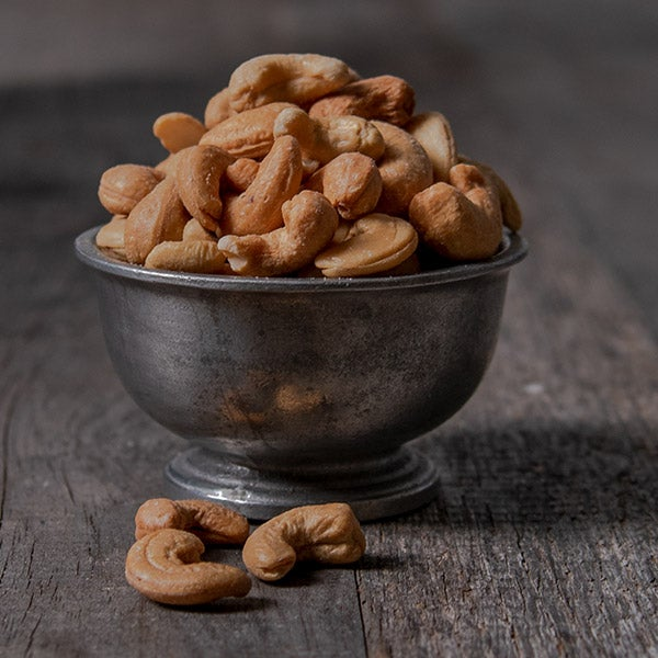 Roasted & Salted Cashews by GourmetGiftBaskets.com - 6 oz. -