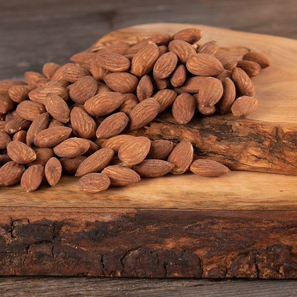 Roasted & Salted Almonds by GourmetGiftBaskets.com - 6 oz. -