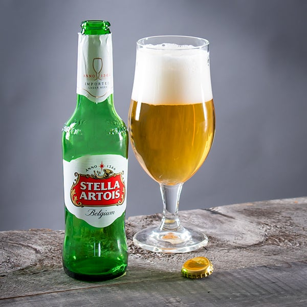 Pale Lager by Stella Artois - 12 oz. -  BOTTLE
