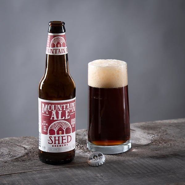 Brown Ale by Shed Mountain - 12 oz. -  BOTTLE