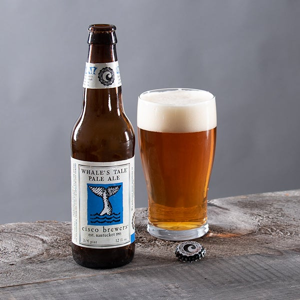 Whale's Tail Pale Ale by Cisco - 12 oz. -  BOTTLE