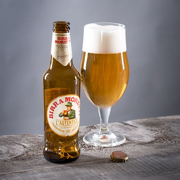 Lager by Moretti - 12 oz. -  BOTTLE