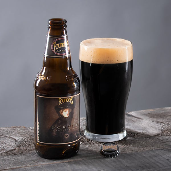 Porter by Founders Brewing Company - 12 oz. -  BOTTLE