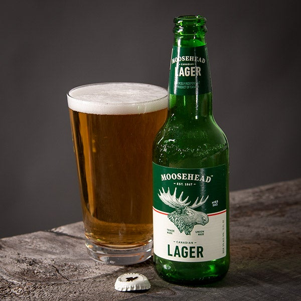 Pale Lager by Moosehead Brewery - 12 oz. -  BOTTLE