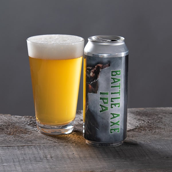 Battle Axe IPA by Kelsen - 16 oz. -  CAN