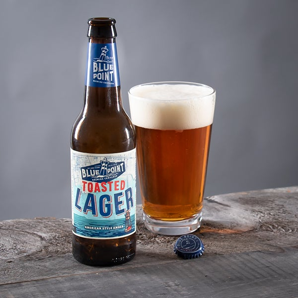 Toasted Lager by Blue Point - 12 oz. - BOTTLE (DISCONTINUED)