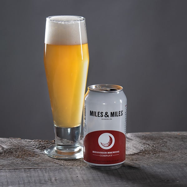 Miles & Miles by Henniker Brewing Co. - 12 oz - CAN