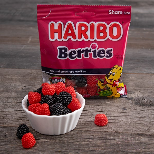 Gummy Berries by Haribo - 5 oz. -
