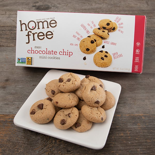 Gluten Free Chocolate Chip Cookies by Home Free - 5 oz. -