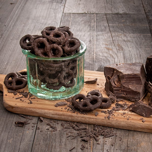 Dark Chocolate Pretzels by GourmetGiftBaskets.com - 6 oz. -
