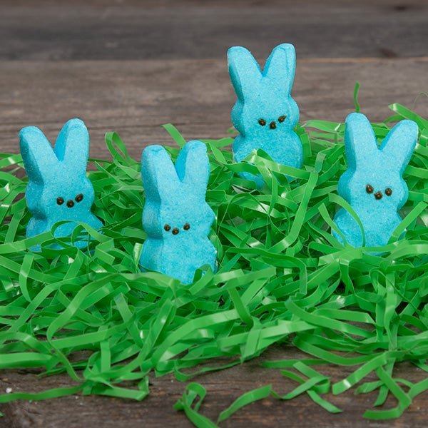 PEEPS (blue) Bunnies by Just Born - 4 ct -