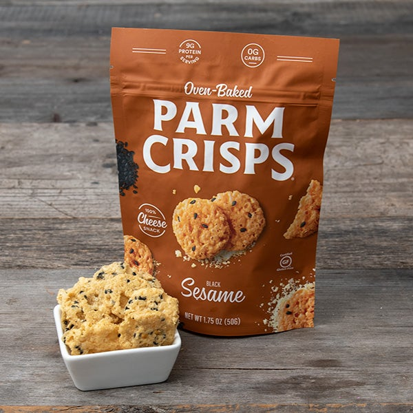 Sesame Parm Crisps by That's How We Roll - 1.75 oz. -