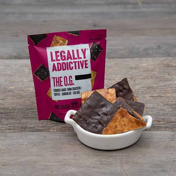 The O.G. Toffee, Chocolate, Cookie Combo by Legally Addictive - 1.34 oz. -