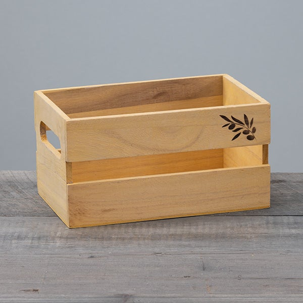 Crate with Slats - 9 x 5.5