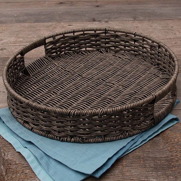 Round Basket - Resin Material - Small