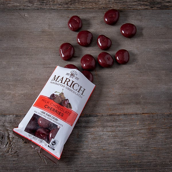 Chocolate Covered Cherries by Marich - 2.3 oz. -