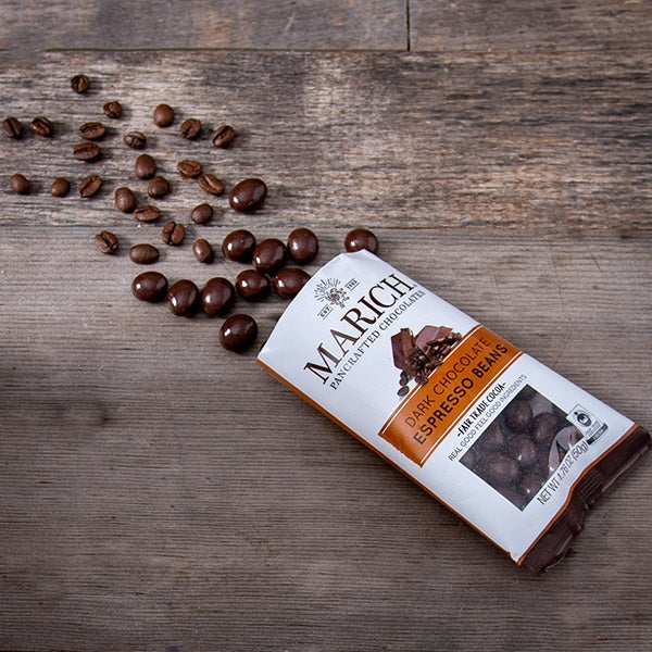 Single Serve Chocolate Expresso Beans by Marich - 1.76 oz. -