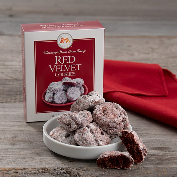 Red Velvet Cookies by Mississippi Cheese Straw Factory - 3.5 oz. -