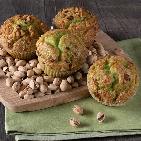 Pistachio Muffin by GourmetGiftBaskets.com - 4 oz. -