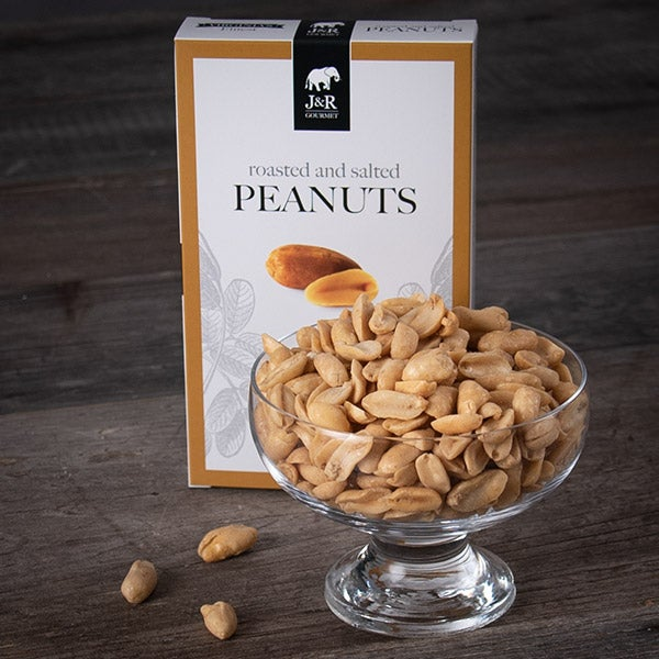 Roasted & Salted Peanuts by J&R Gourmet - 2 oz. -
