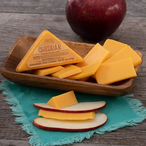 Cheddar Cheese (Triangle)  by Vintage Cheese Co. - 2 oz. -
