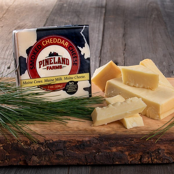 Smoked Cheddar Cheese by Pineland Farms - 7 oz.