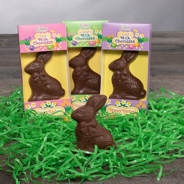 Solid Milk Chocolate Bunny - 2.25 oz. -