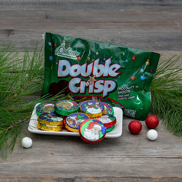 Double Crisp Christmas Coins by Palmer - 4.5 oz. -