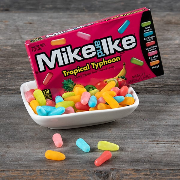 Tropical Typhoon Mike and Ike's by Just Born - 5 oz. -