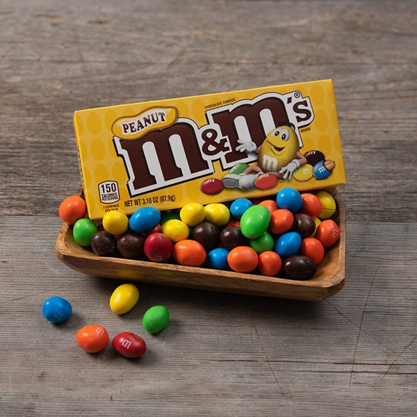 Peanut M&M's by Mars - 3.1 oz. -