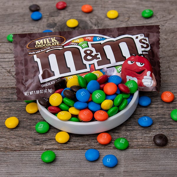 Plain M&Ms by Mars - 1.69 oz. -