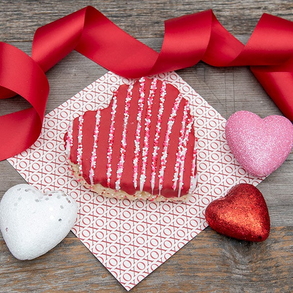Heart Crispy Treat by Selma's Cookie Company -