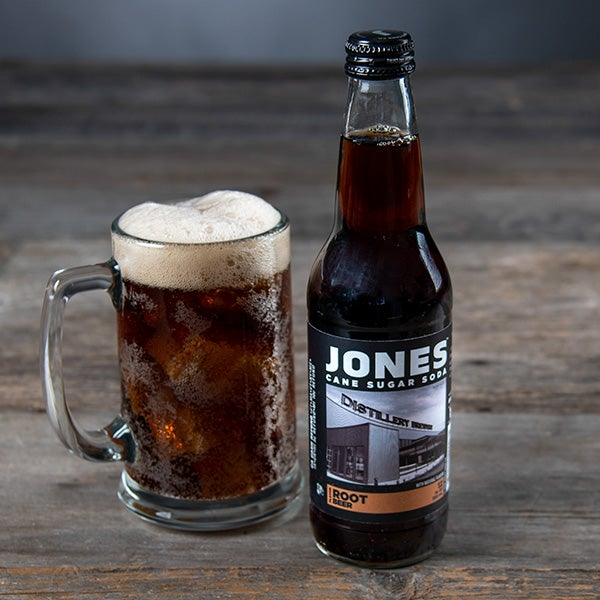 Root Beer by Jones Soda - 12 oz. - BOTTLE
