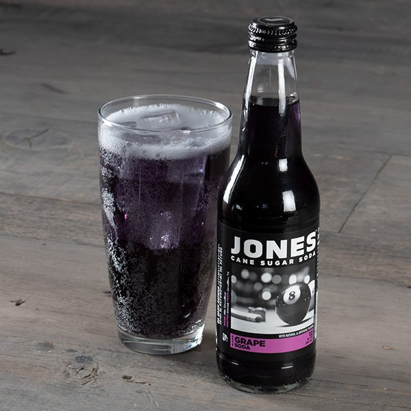 Grape by Jones Soda - 12 oz. - BOTTLE