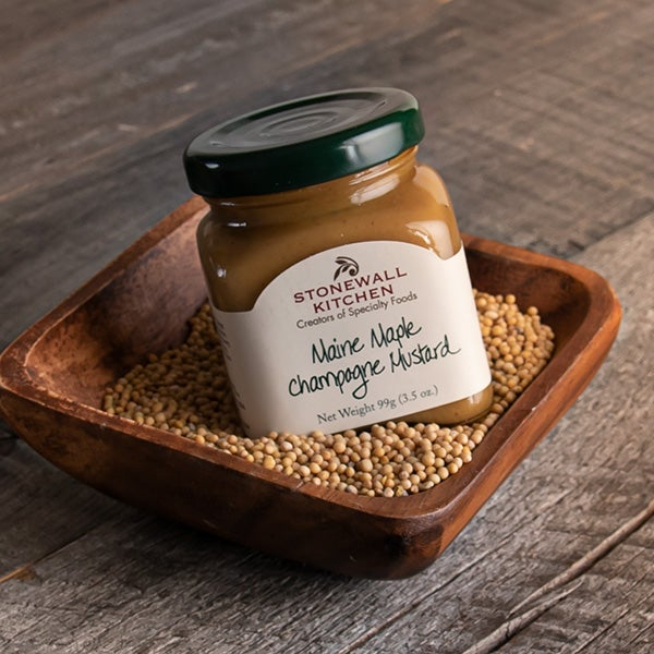 Maine Maple Champagne Mustard by Stonewall Kitchen - 3.5 oz. -