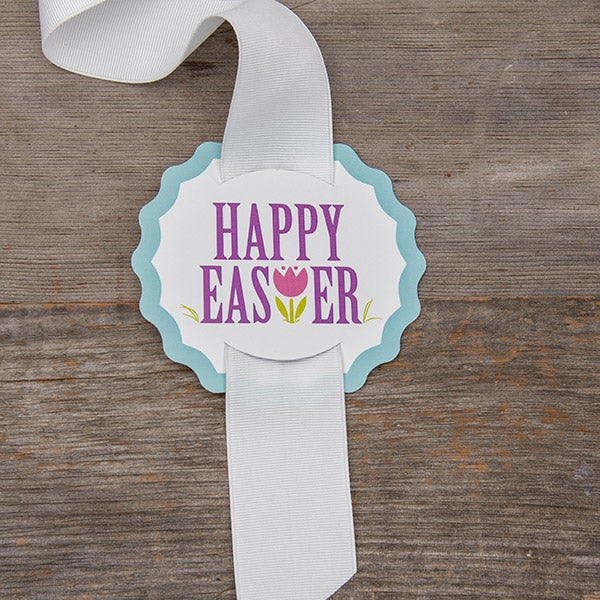 Easter Hang Tag - to add to Ribbon